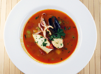 bouillabaisse with robin fish